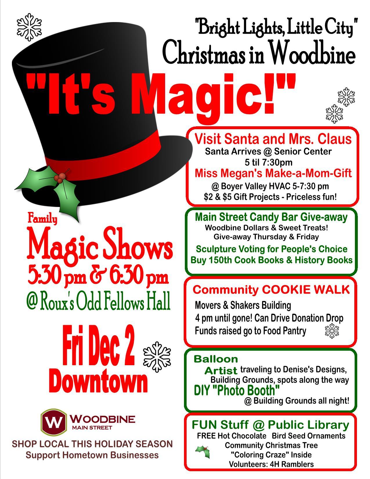 christmas-flyer-2016 | City of Woodbine