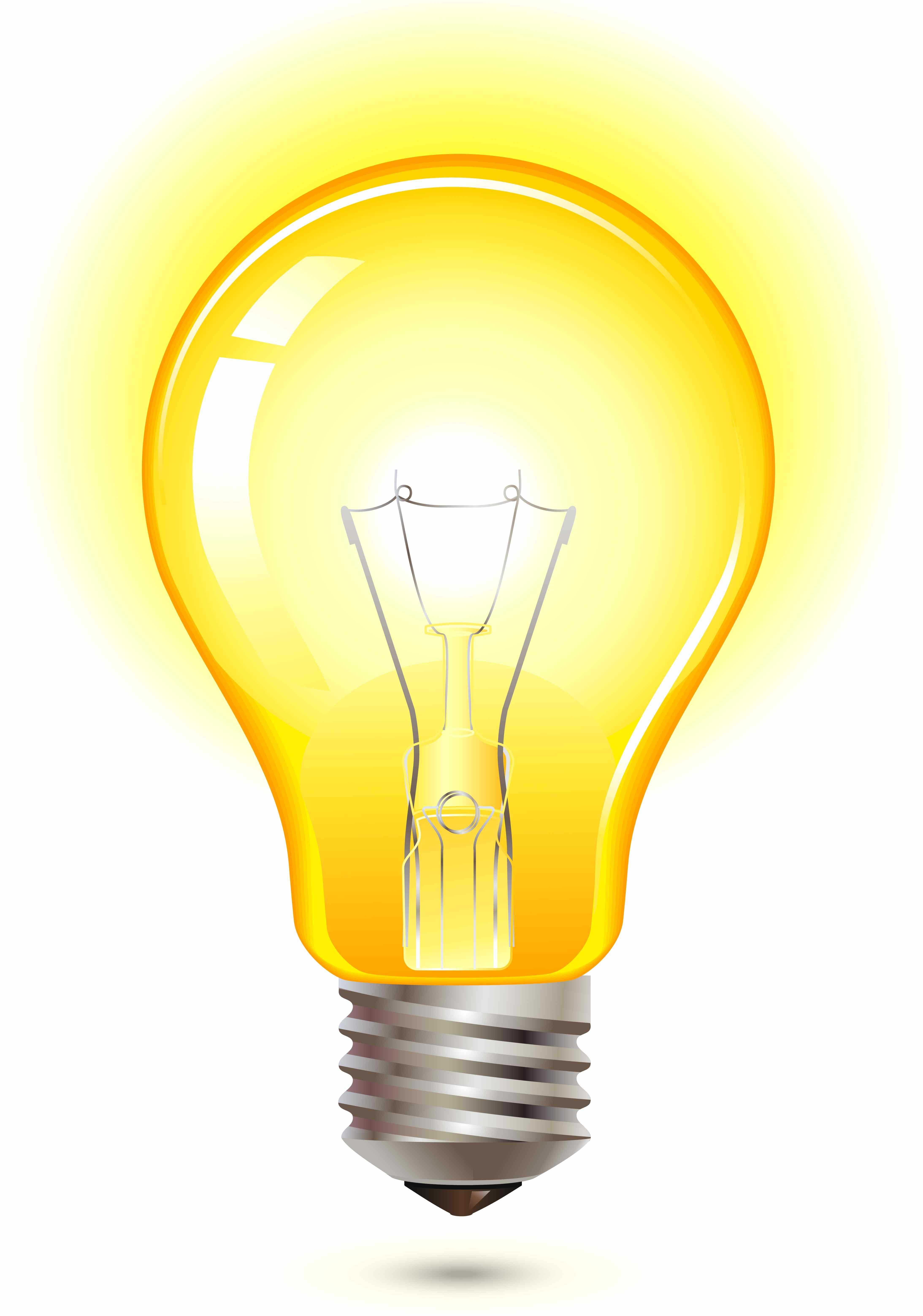 Light Bulb Yellow Antenna Ball Topper